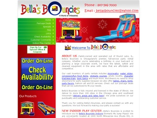Bella's Bouncies Party Rentals…IL and WI
