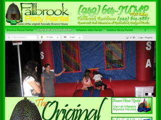 Fallbrook Party Rental & Bounce House Rental