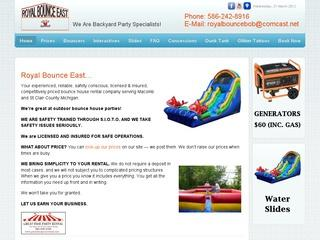 Royal Bounce East Party Rentals